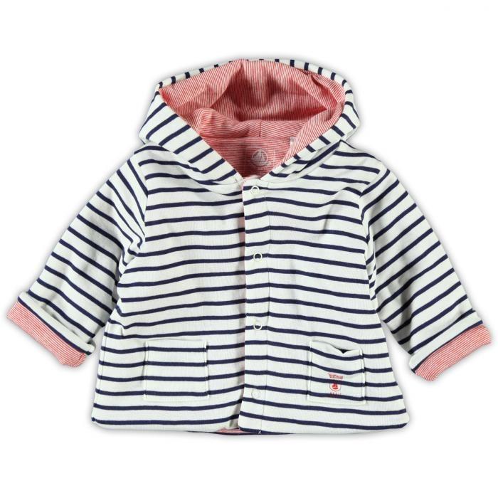 Petit Bateau Baby jas | kleertjes.com