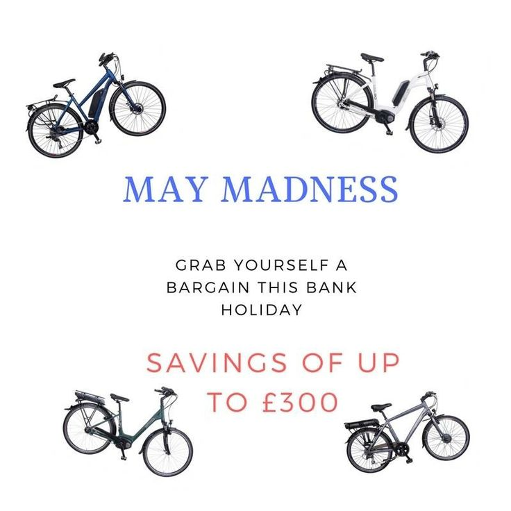 We still have some amazing offers on until the end of May. We are taking appointments over the bank holiday weekend in Wincanton, Basingstoke or a location of your choice. We have a superb deal on a Bosch powered ebike for under £2,000 if you would like to test ride these #ebikes call us on 01747 840210 or 07771 927354