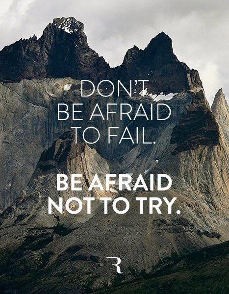 Always try!