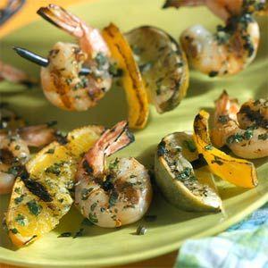 Tequila Shrimp and Citrus   MyRecipes.com