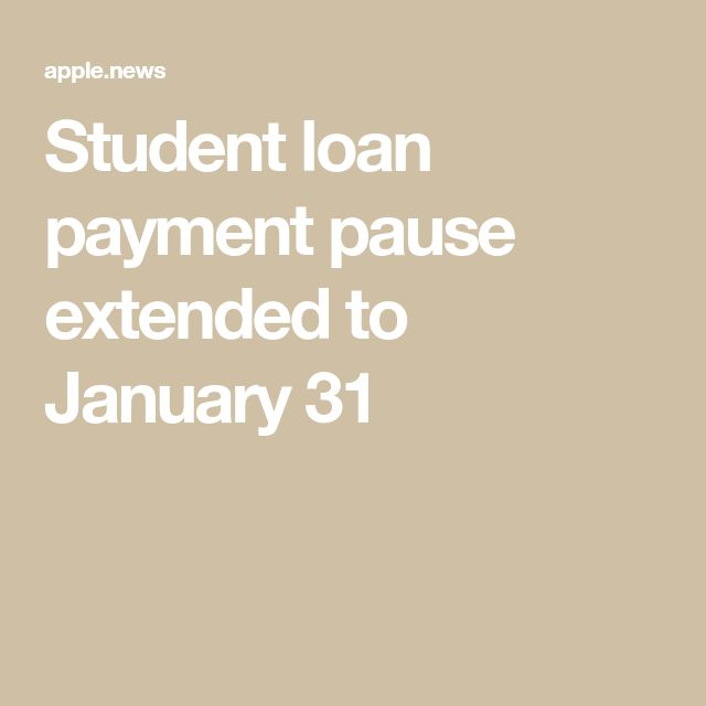 Student Loan Payment Pause Extended To January 31 Cnn Politics Student Loan Payment Student Loans Student