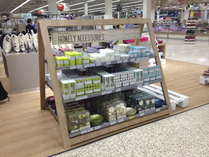 Interesting fixture design | Tesco Watford - GM Non-Food Project - Visual Merchandising - Customer Journey - Future of GM - www.clearretailgroup.eu