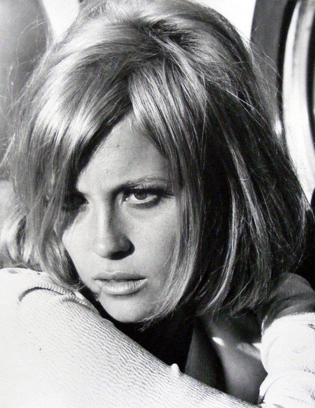 Faye Dunaway in Bonnie and Clyde, 1967.