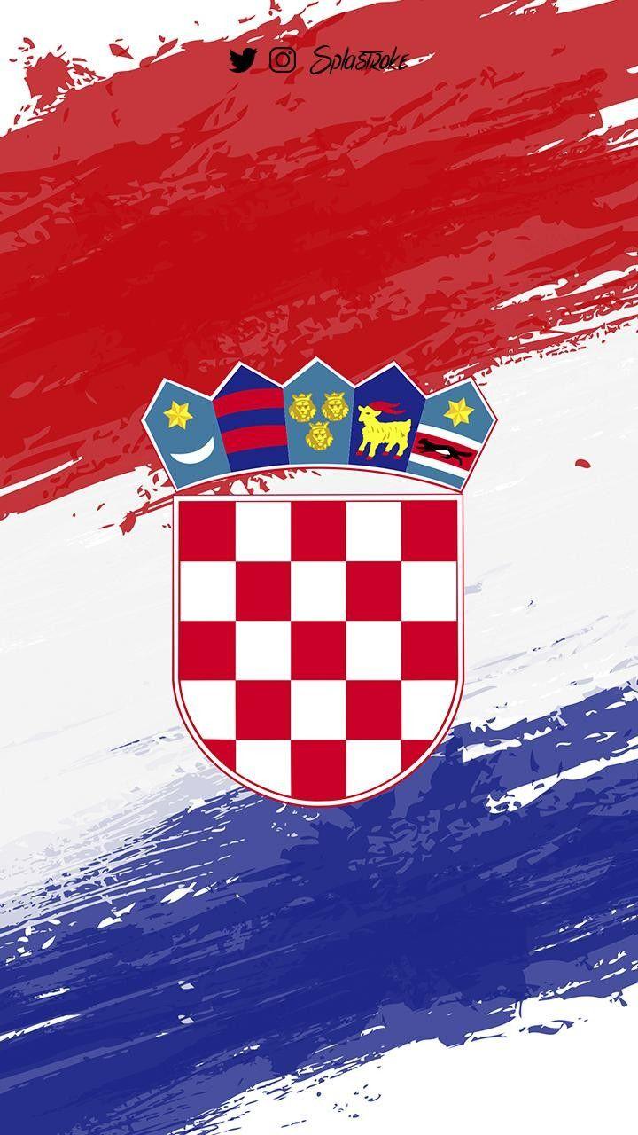 Croatia Kroatien Flagge Kroatische Flagge Kroatien Wm 2018