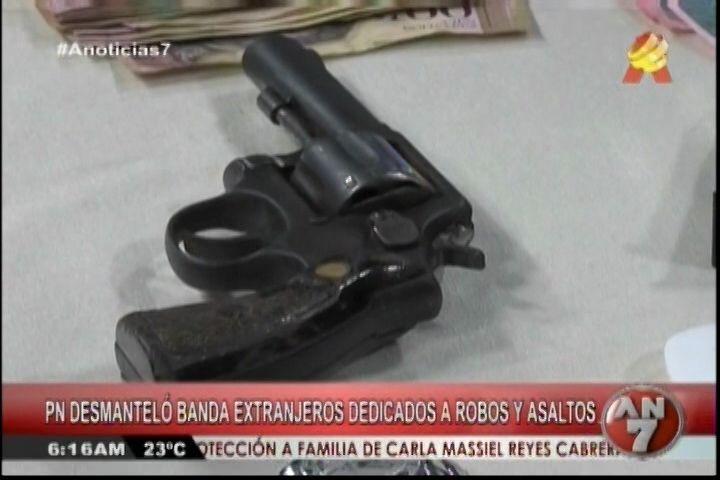 Banda De Extranjeros Que Se Dedicaban A Robos Y Asaltos Fue Desmantelada Por La P.N.