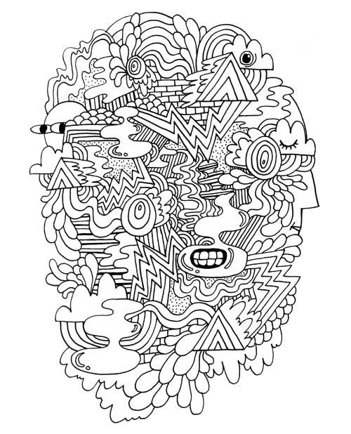 Will Bryant Doodles Coloring Page