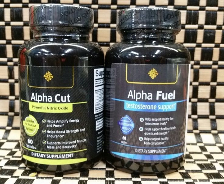 Sports Vitamins and Minerals: Alpha Fuel ~ Testosterone Support And Alpha Cut ~ Premium Nitric Oxide ~ New ~Hd -> BUY IT NOW ONLY: $40.95 on eBay!