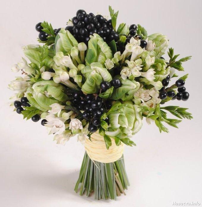Монохромный декор в тренде: черно-белые свадебные букеты! | 2 сообщений | Блоги невест на Невеста.info