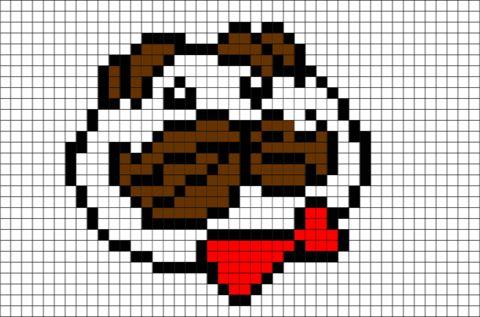 Pixel Pringles Logo