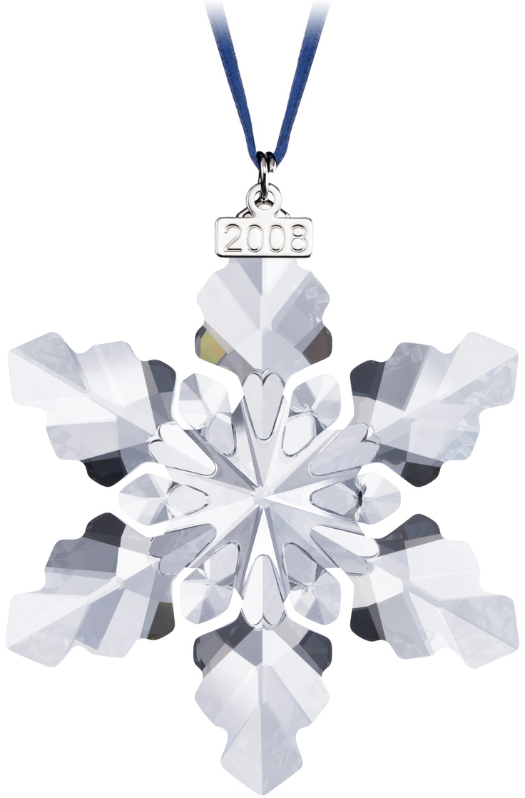 Swarovski christmas ornament 2004 - 2008 Snowflake Got It Swarovski Ornament