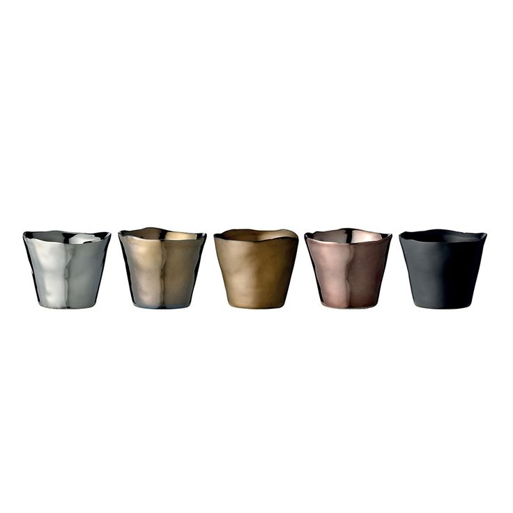 Bloomingville Votives - Silver/Gold/Bronze/Black
