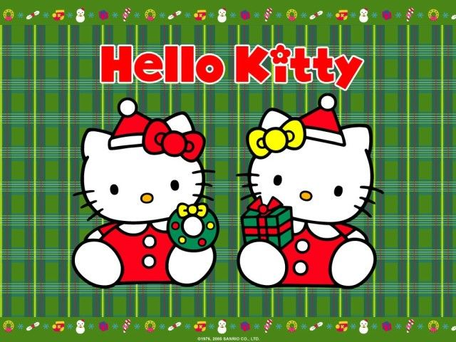 Hello Kitty Christmas Pictures For Desktop