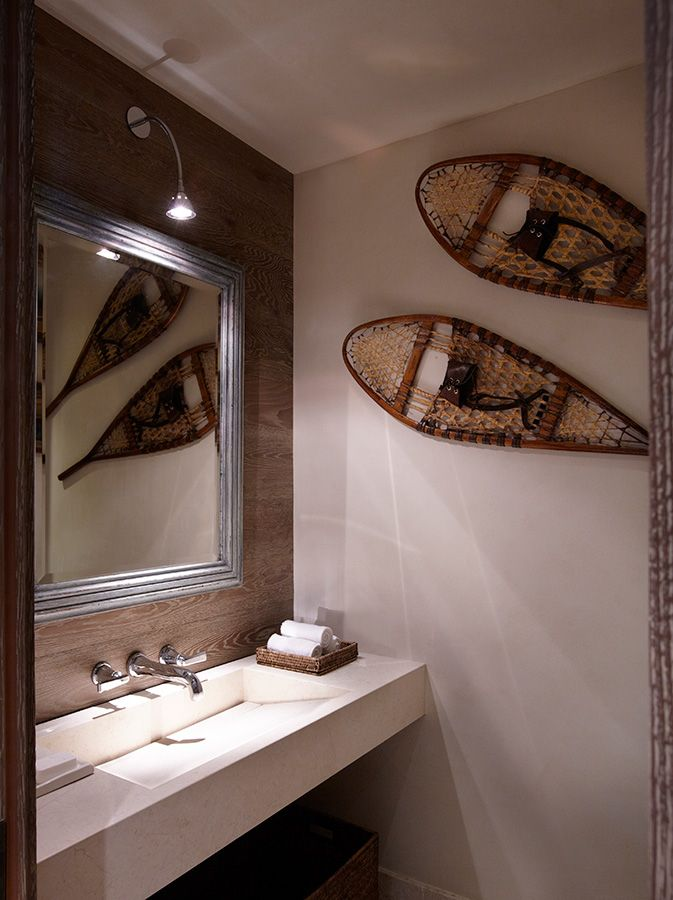 Chalet in Courchevel - Downstairs Bathroom