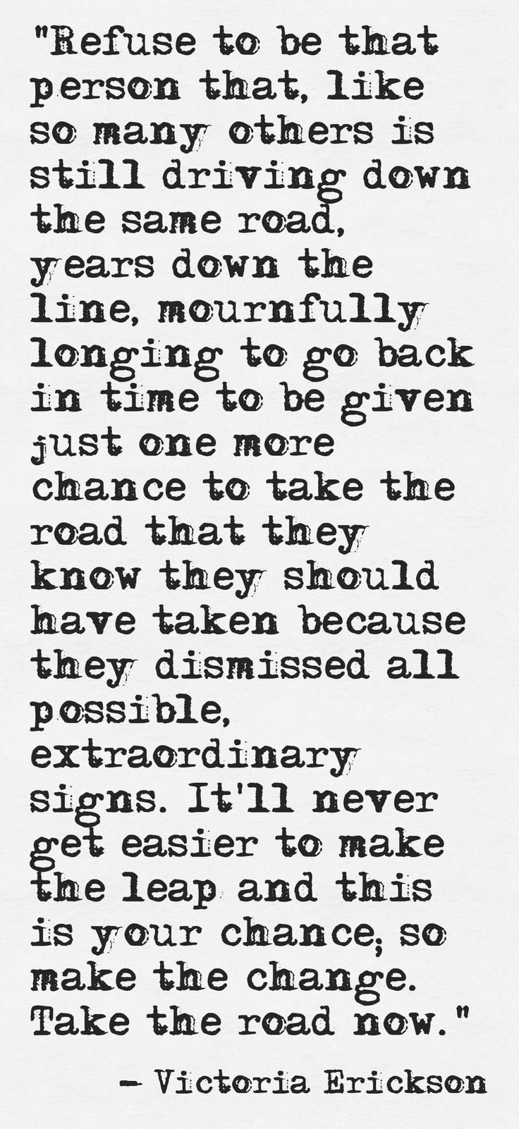 This was meant for me.  No question.  God sends me messages like this all the time.  Sometimes my head is like the hardest rock.  Unyielding. Unaccepting.  But God keeps whispering to my soul.  It is time for me to listen, accept and take action.  Don't be a scare bear, unafraid to take chances.  #The time is now