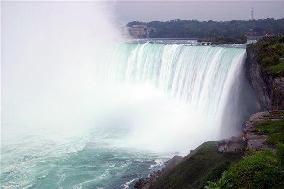 Journey Behind The Falls Picture In Niagara Falls Niagara Falls