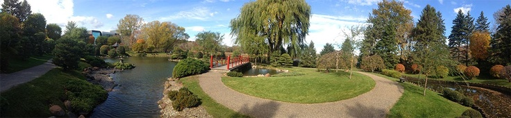 The Japanese Garden at Normandale Community College - Bloomington, MN (approx family of 4 cost = $0) http://mapq.st/179mfGo