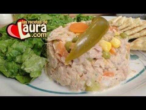 Ensalada de Atún Las Recetas de Laura Recetas Light - http://dietasparabajardepesos.com/blog/ensalada-de-atun-las-recetas-de-laura-recetas-light/