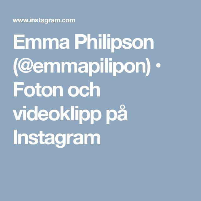 Emma Philipson (@emmapilipon) • Foton och videoklipp på Instagram