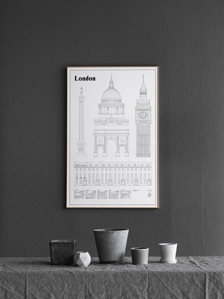 New London print by Studio Esinam