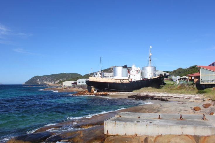 The old whaling station at Albany is now a museum.