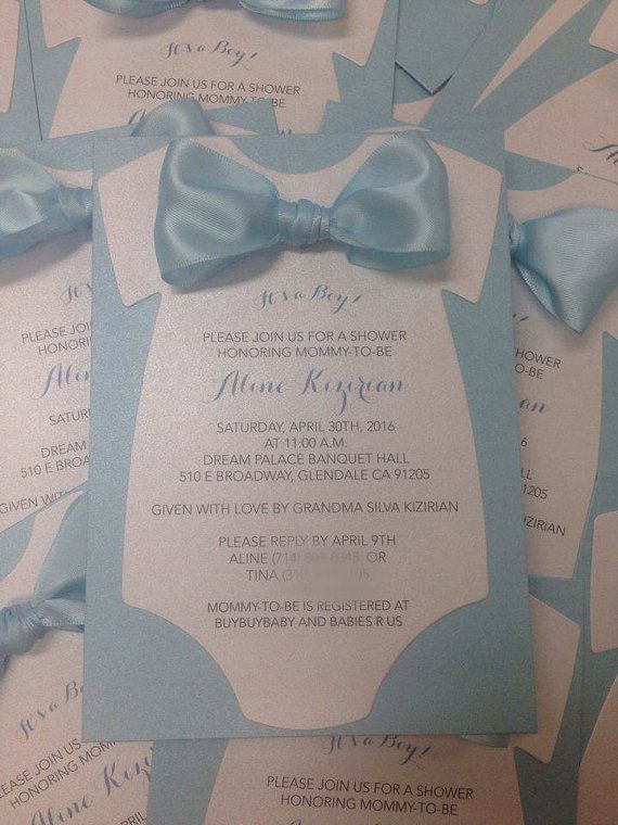 This is a custom made/made to order onesie cut out baby shower invitation. Can be made for boy, girl or gender neutral. Different colors/designs