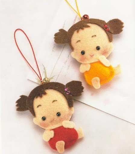 With molds made of felt! «Craft & Humor for Women