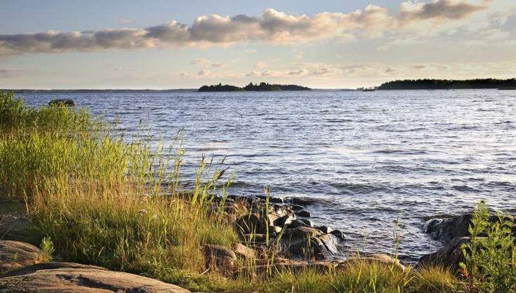 Merinäkymä Vaasassa