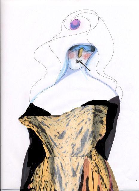 Illustration /collage Suze maria