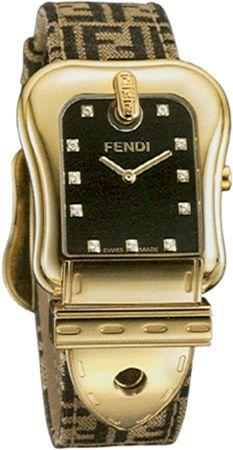 fendi watch: Diamonds Watches, Ladies Watches, Chronowatchco Fendi, Diamonds Band, Black Leather, Leather Diamonds, Big Watches, Fendi Watches, Fendi Black