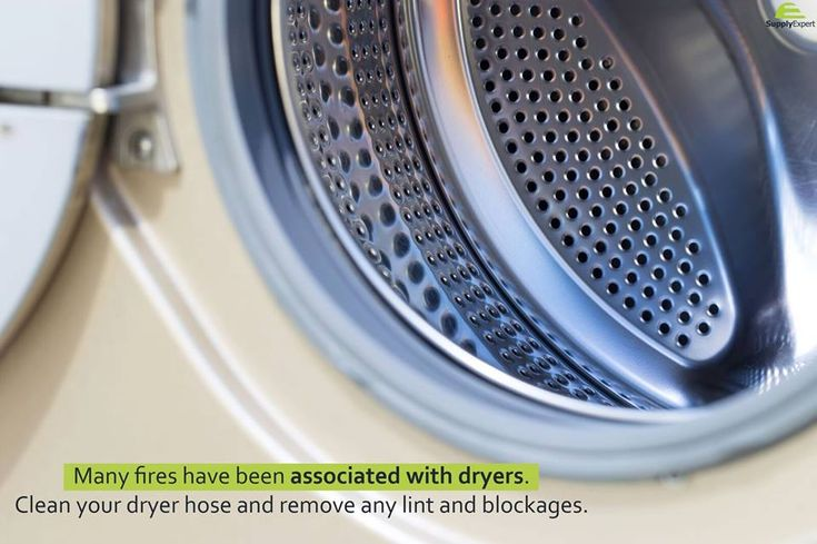 Home #maintenance tip of the day: many fires have been associated with dryers. Clean your #Dryer hose and remove any lint and blockage. << #SupplyExpert #ElectricalSupplies #HomeMaintanceTips