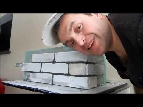 (25) Декоративный кирпич из гипсокартона своими руками ч. 2 - YouTube