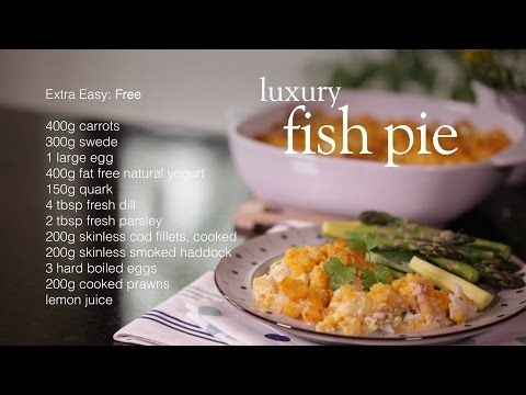 Luxury all-in-one fish pie - Recipes - Slimming World