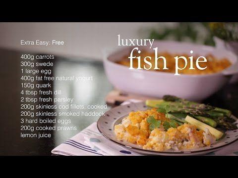 Slimming World luxury fish pie recipe - YouTube