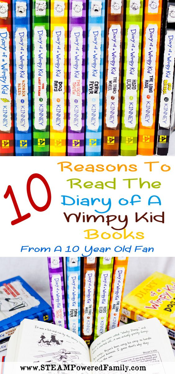 I enjoy these books so much I wanted to tell you my top 10 reasons why I think every kid should read the Diary of a Wimpy Kid books! From a…