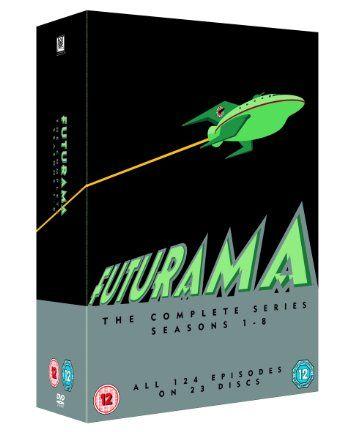 Futurama - Season 1-8 [DVD] [1999]