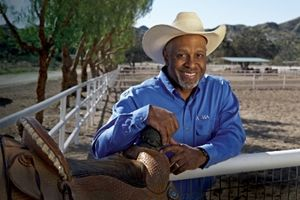 actor James Pickens Jr. is just another roper who also happens to be putting on his sixth annual James Pickens Jr. Foundation Charity Roping Event.
