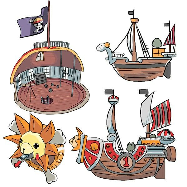 Thousand Sunny, Going Merry; One Piece