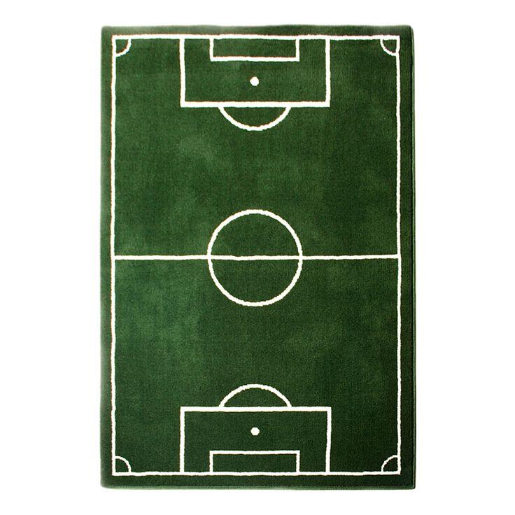 Tapijt Voetbalveld - 160 x 230 cm