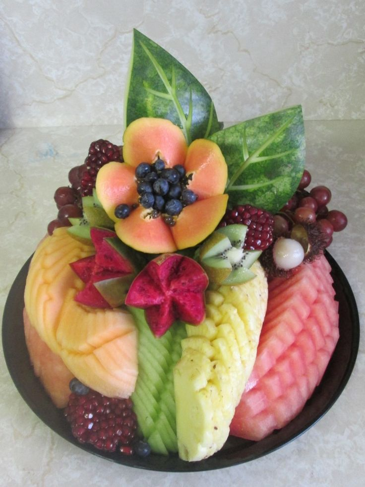 Pri Hadar - Fruit Platters ::: Monsey Kosher Gift Baskets ideas