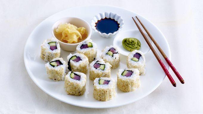 Kijk wat een handige video op Allerhande! Urumaki sushi