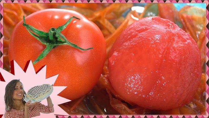 Come Sbucciare i Pomodori Facilmente