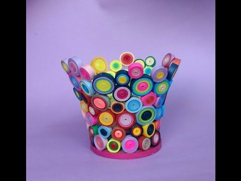 ☑️ Quilling - ❤ ❤❤ How to make a Birthday Gift Greeting Card ❤❤❤ - YouTube
