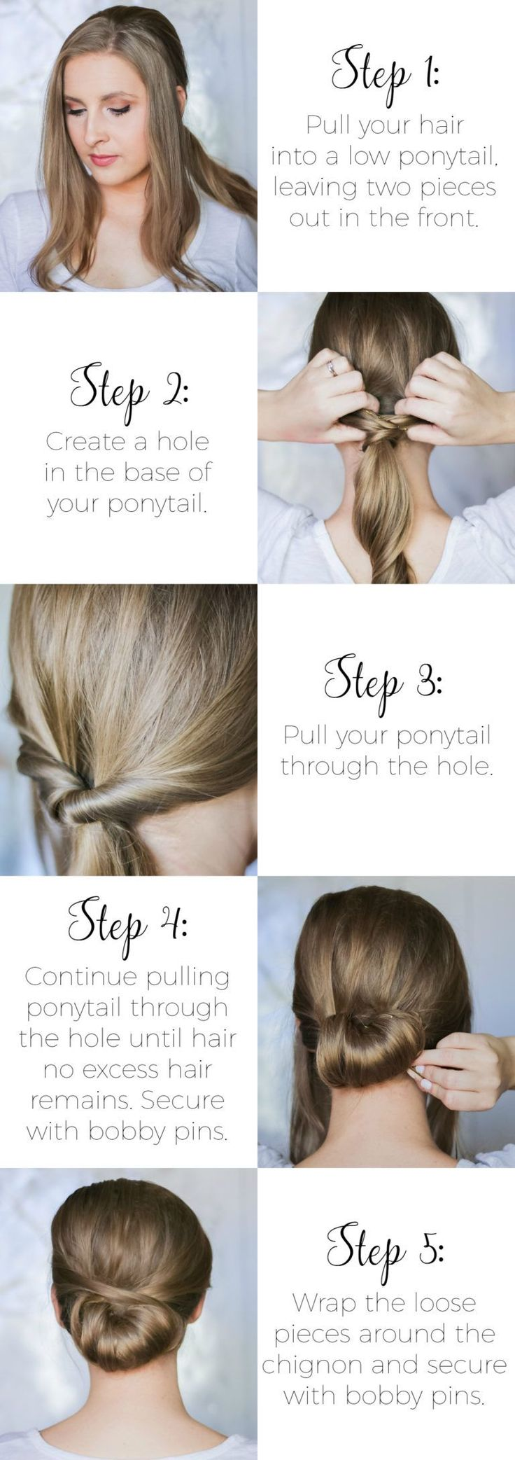 7067 best Easy hairstyles images on Pinterest | Hairstyle ideas ...