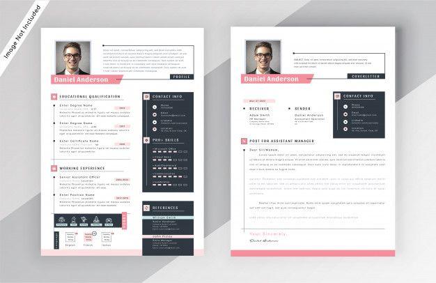 Modele De Cv Moderne Cv Template Modern Resume Design Modern Resume