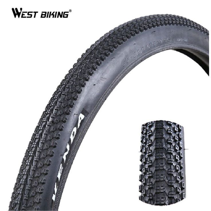 WEST BIKING 29*1.95 Bicycle Tire 60TPI Large Wheel Diameter MTB Tire Neumaticos Bicicleta Pneu Bicycle Tires Mount Bike Tires