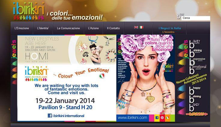 HOMI International Show on 19-22 Gennuary 2014 Milan (Italy) - I Birikini Madeinitaly Fashion Brand - http://www.ibirikini.com #ibirikini #ibirikinibrand #bijoux #bigiotteria #accessorimoda #madeinitaly #export #internationalbijoux #birikinibracelets #bracelets #fashion #moda #modaitaliana #style #regalodonna #ideeregalo #birikini #italianbrand #emozioni #ideeoriginali #tvb #xxx #amicizia #amore #fedeltà #love #tender #leilui #luilei #♥ #portafogli #lebiribag #biribag #bags #italianbags