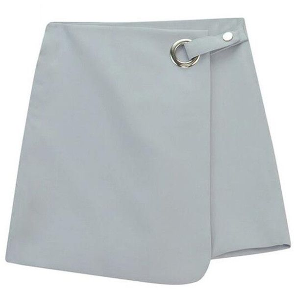 Chicnova Fashion Asymmetric Mini Skirt ($12) ❤ liked on Polyvore featuring skirts, mini skirts, bottoms, high-waist skirt, high rise skirts, high-waisted skirts, high waisted skirts and asymmetrical mini skirt