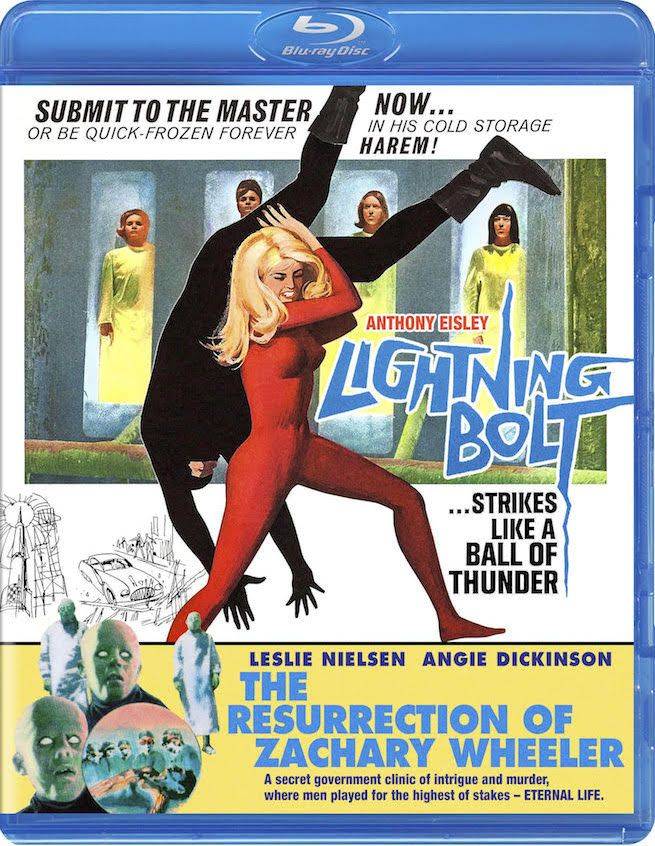 LIGHTNING BOLT / THE RESURRECTION OF ZACHARY WHEELER BLU-RAY (CODE RED)