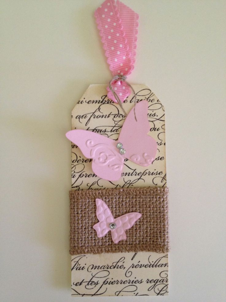 Stampin' Up! Tag for Mothers Day
