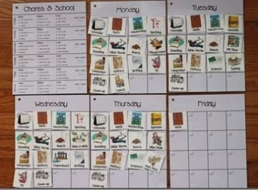 organizing homeschool by the week Workbox Ideas for Sue Patrick's Workbox System